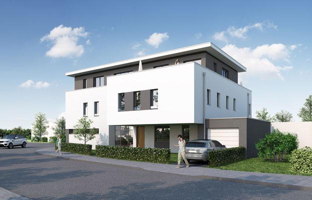 Mehrfamilienhaus in Korschenbroich | RFCV, Meerbusch für WISA Bau, Kaarst