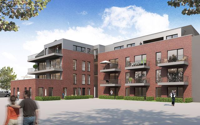 Mehrfamilienhaus in Nordhorn | gesamtwerk, Nordhorn