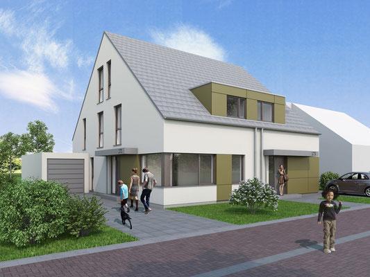 Doppelhaus in Viersen | studio 173, Mönchengladbach