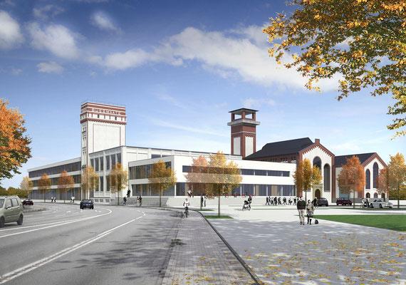Bürogebäude in Nordhorn | gesamtwerk, Nordhorn