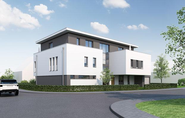 Mehrfamilienhaus in Korschenbroich | RFCV, Meerbusch für WISA, Kaarst