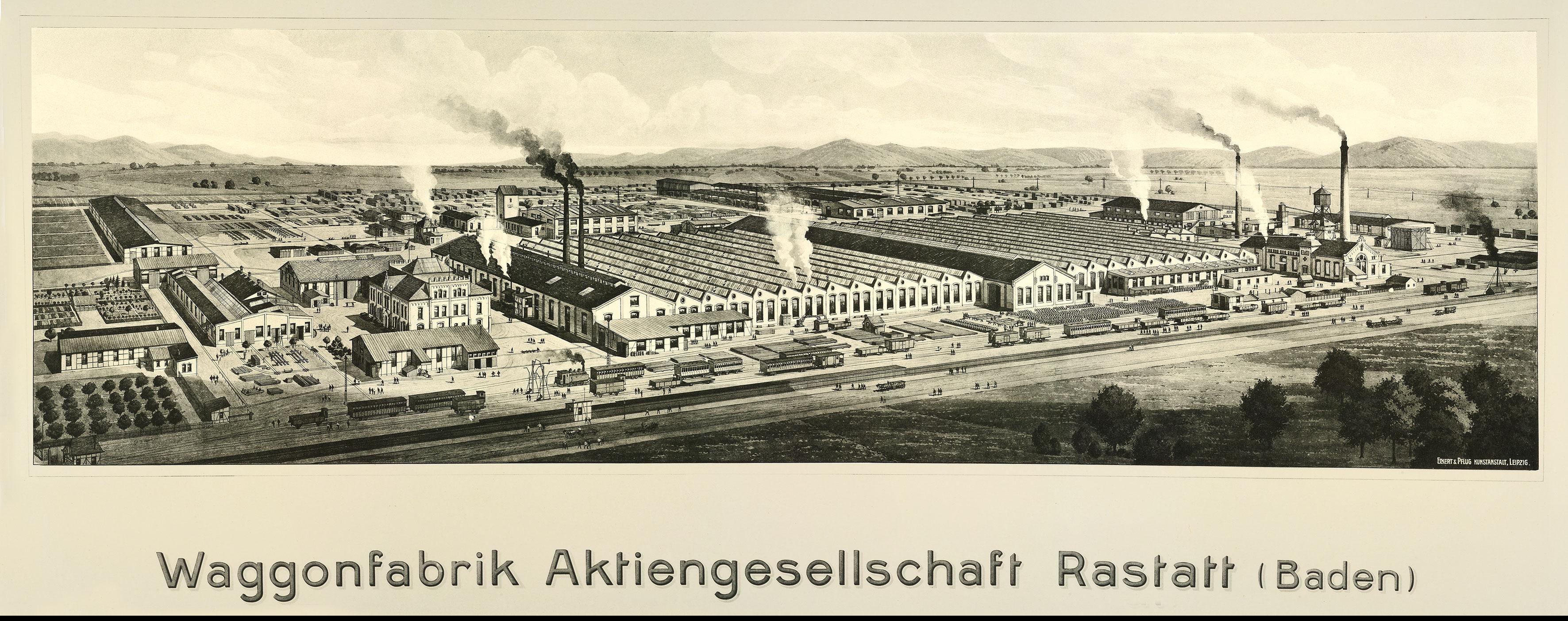 Waggonfabrik Rastatt; © BWR Waggonfabrik