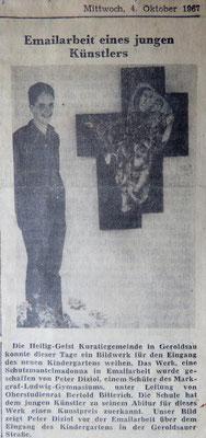 Badisches Tagblatt, 4. Oktober 1967