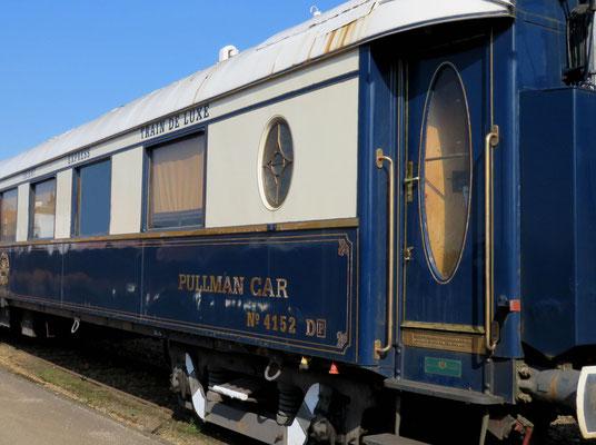 Eisenbahn Geschichte, Original Pullman Wagen, Gelände BWR 2017, © Peter Diziol