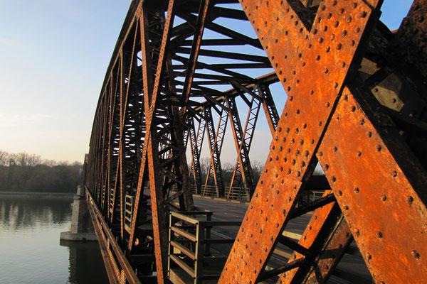 125 Jahre Rheinbrücke Wintersdorf heute © alle Fotos Peter Diziol