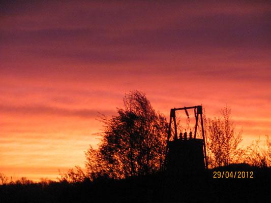 Sonnenaufgang am Inselweiher