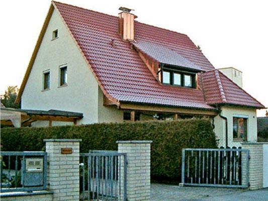 Dachdeckung und Neueindämmung - Nachher