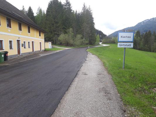 Kleinflächensanierungen: Klachau-Girtstatt