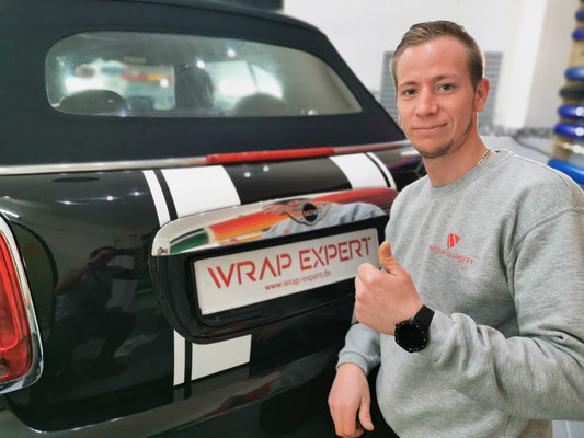 Wrap Expert Rallye Streifen Mini Cooper Lübeck