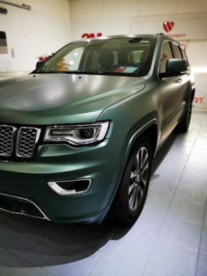 Jeep Cherokee Vollfolierung Wrap Expert