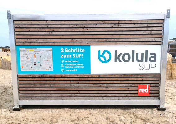 Wrap Expert Werbefolierung SUP Lübeck Travemünde