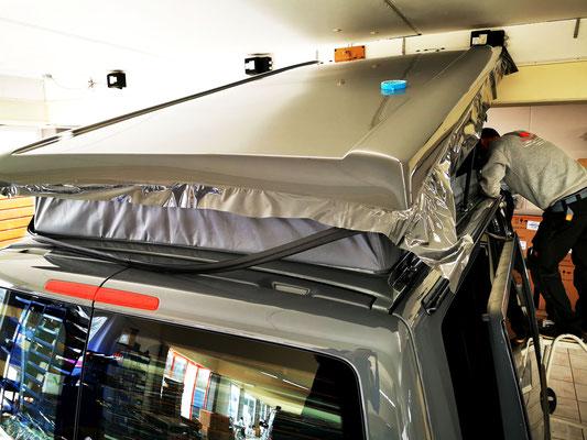 Wrap Expert Vollfolierung Teilfolierung Dachfolierung Bus Van Camper T4 T5 T6  Lübeck