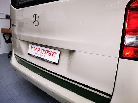 Wrap Expert Rallye Streifen Mercedes Benz V-Klasse Lübeck