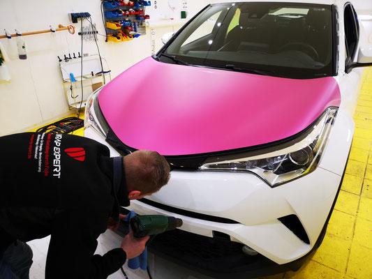 Vollfolierung Lübeck Wrap Expert Toyota CH-R