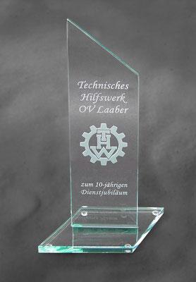 Glas-Auszeichnung