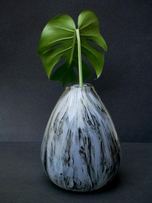 Graal-Vase bemalt