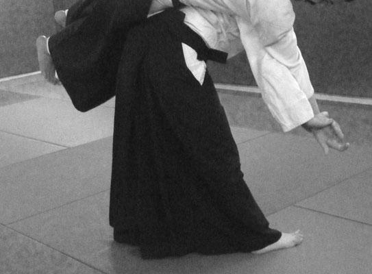 Koshi nage, ou l'équilibre instable