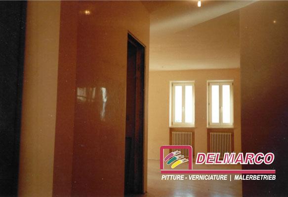 Delmarco pitture e verniciature Bolzano - Bozen  |  appartamento villa Germania - stucchi veneziani