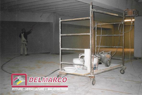 Delmarco pitture e verniciature Bolzano - Bozen  |  tinteggiatura magazzino