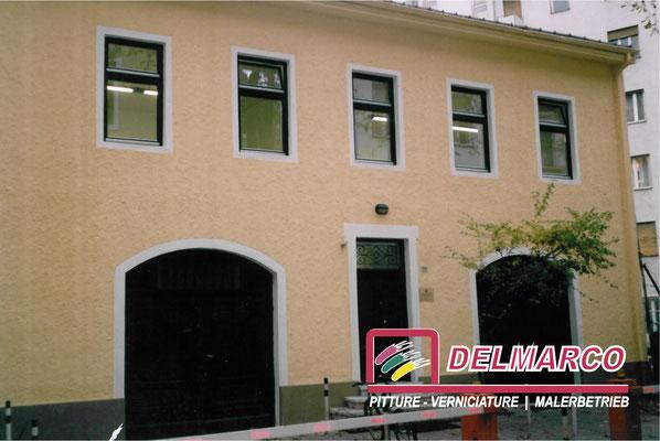 Delmarco pitture e verniciature Bolzano - Bozen  |  lavoro eseguito per tinteggiatura esterna villetta con pitture silossaniche