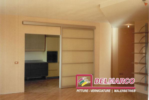 Delmarco pitture e verniciature Bolzano - Bozen  |  applicazione stucco veneziano su pareti