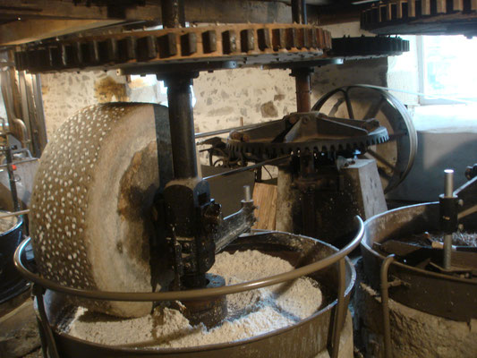 Moulin du Got - Préparation de la pâte à papier
