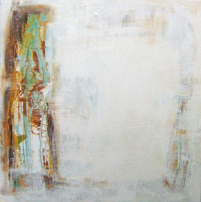 """""""Silent space"""", Acryl auf Leinwand, 60x60cm, 2019"""