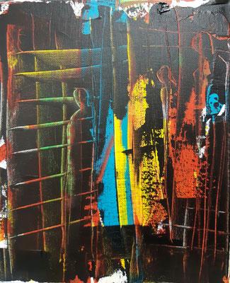 Freiheit, Acryl auf Canvas, 30x20cm, 2020