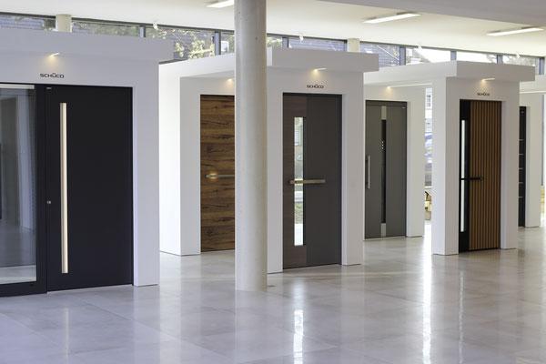 Schüco Showroom bei Köln - design-haustür.de Der Online Shop für Premium Haustüren