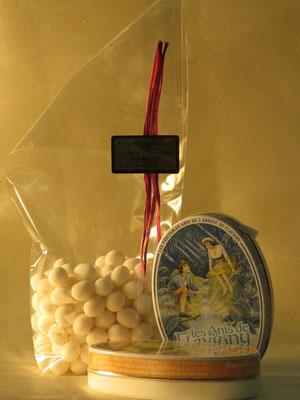Bonbons anis de Flavigny en sachet ou en boîte