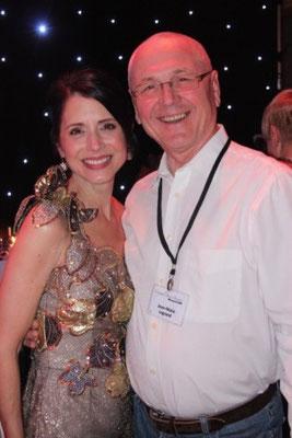 Jean-Marie avec Jo Thompson