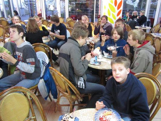 2011 in Heringsdorf beim Eisessen