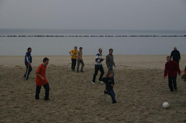 2008 - Fußball am Strand