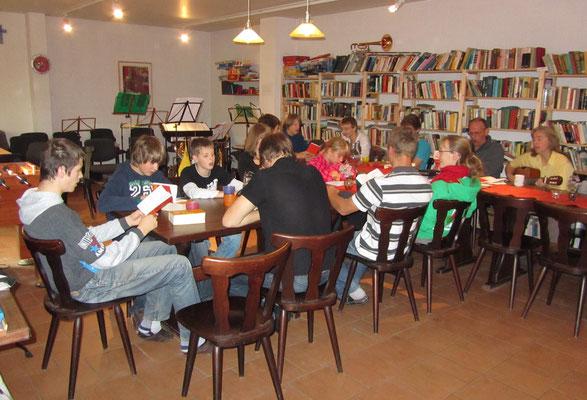 2011 in Benz bei der Bibelarbeit