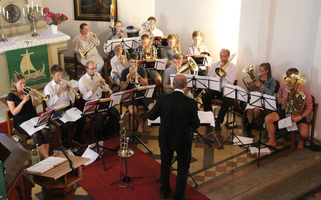 2015 - Gottesdienst in der Ahlbecker Kirche