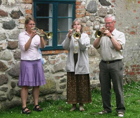 2009 - Gemeinschaftstag in der Wasserburg Turow: Besuch aus Schweden - Tore Nilsson
