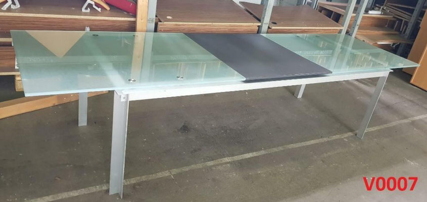 Glas Konferenztisch Glastisch Besprechungstisch