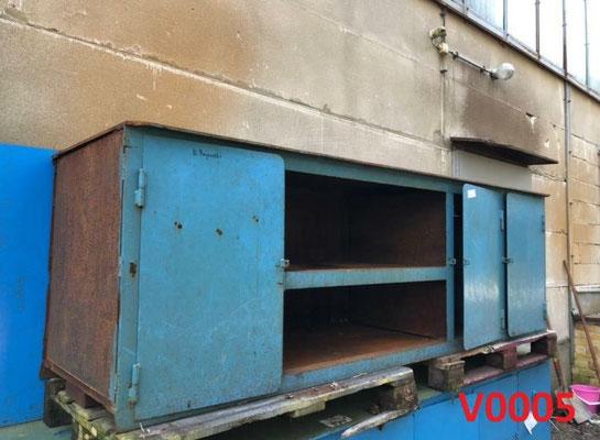 Massive Eisenwerbank / Arbeitstisch Schweißertisch ca. 700 kg