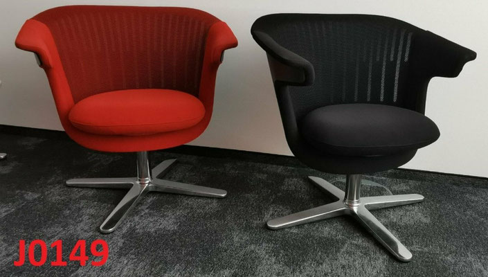 9x STEELCASE i2i LOUNGE Sessel Chair Besucherstühle