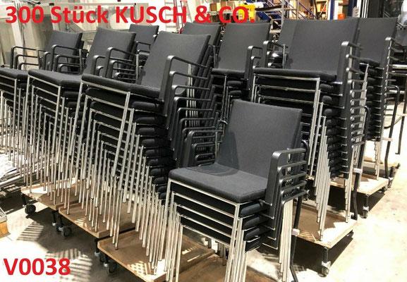 300 Stück STAPELSTÜHLE Konferenzstühle Bürostühle