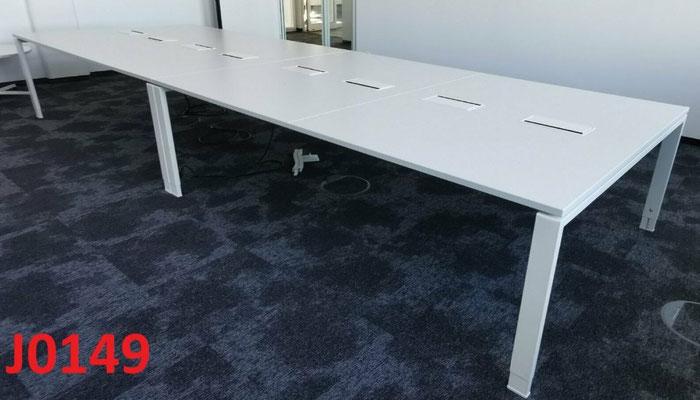 8x Konferenztisch STEELCASE Besprechungstisch 240x160