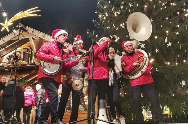 The Christmas Heroes, mobile Weihnachtsband