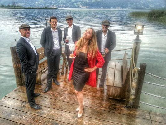 Der Acoustic Club mit Jeannette Dalia Curta am Tegernsee