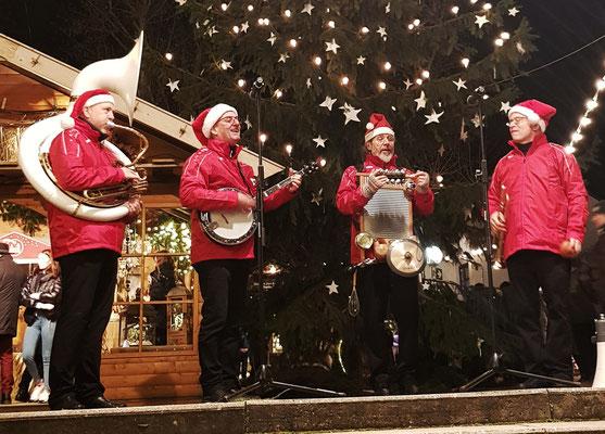 Christmas Heroes auf dem Weihanchtsmarkt in Deidesheim