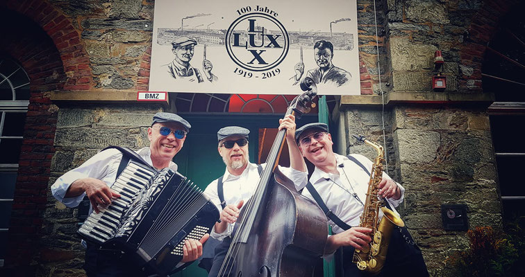Herrenkombo - mobile Band - 100 Jahre LUX Tools - Solingen