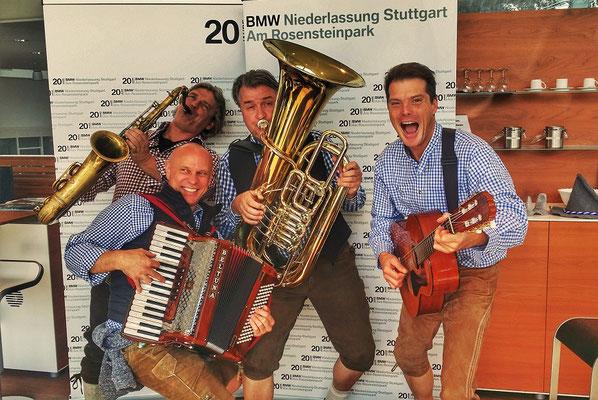 Der Musikantenklub bei Mercedes Benz in Stuttgart