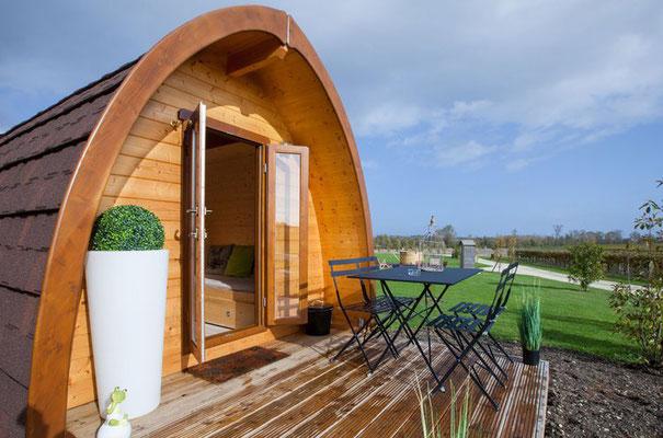 Modeles mobil home en bois au design moderne for Casa mobile in legno