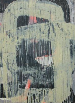 Sibylle Werkmeister, 69,5 x 94,5 cm, Acryl, Ölkreide auf Papier