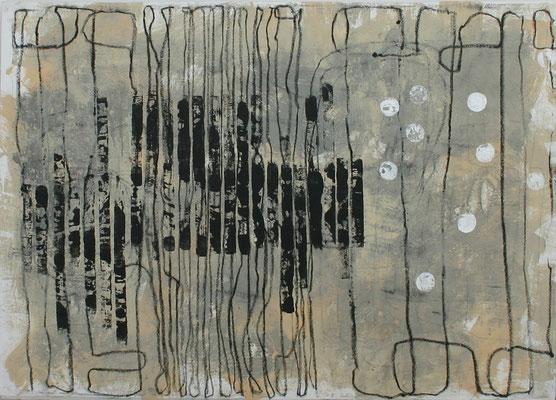Sibylle Werkmeister, 161 x 114 cm, Acryl auf Leinwand
