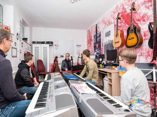 musikWerkstatt Silberstrasse - Workshop 2019